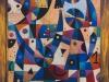 Poslední dva milovníci kubismu, 104x94,
